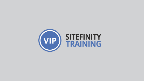 vip-sitefinity-training